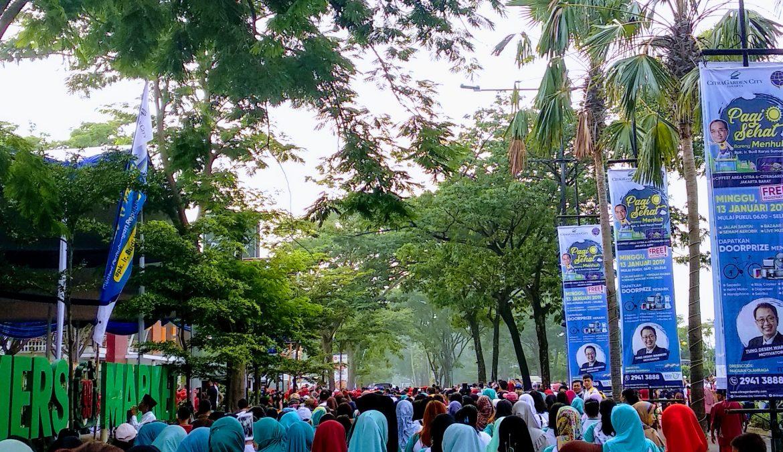 Jalan Sehat Bersama Menhub, Bapak Ir. Budi Karya Sumadi