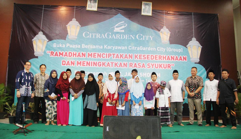 Buka Puasa Bersama CitraGarden City (Group) Dengan Anak Yatim